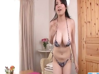 Miho nakata in colorful lingerie rides dong - 1 8